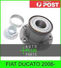 Fits FIAT DUCATO 2006- - Rear Wheel Bearing Hub