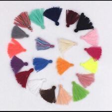 100X Variety colors Cotton Thread Tassel Charm Pendant Tassels Jewelry 3cm