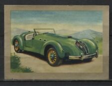 Car 1950-1954 Vintage 1950s Dutch Trading Cards - Pick up your Card