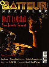 Batteur Magazine N°95 - Matt Cameron & Soundgarden - Novembre 1996