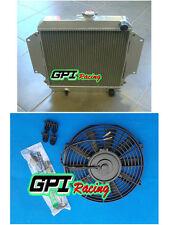 Aluminum Radiator SUZUKI SIERRA 2Dr SPFTOP / HARDTOP 1.3L SJ410/413 81-96 +fan