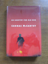 NO COUNTRY FOR OLD MEN Cormac McCarthy - 1st edition stated - HCDJ 2005 FINE