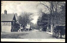 South Road & London Road, Preston Village, Brighton. 1913 Vintage Postcard
