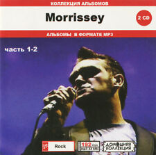 Morrissey - 11 Albums on 2CD - MP3 Collection!!! - Rare Copy Bootleg OOP CD!!!