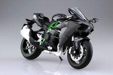 Kawasaki Ninja H2 Motorcycle Finshed Model 1:12 Aoshima