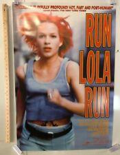 """Run Lola Run"" Original Movie Theater Promo Poster 1999 Sony Pictures Classics"