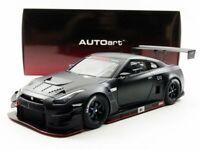 AUTOart 1/18 Nissan GT-R NISMO GT3 Matt Black model car NEW from Japan