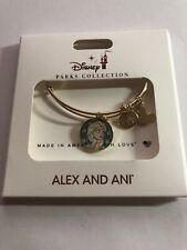 Disney Frozen 2 Anna and Elsa Alex and Ani Gold Finish Bracelet New with Box