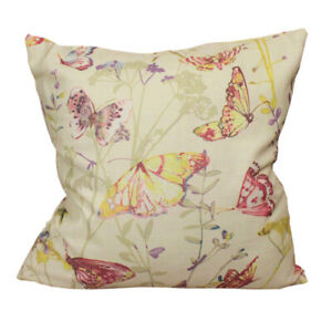 CURCYA Butterfly Seat Cushion Covers Thick Sofa Pillow Cases Home Decor