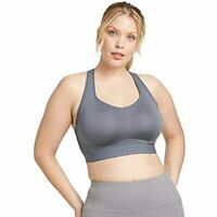 All in Motion Women's High Support Convertible Strap Bra - (Dark Grey, 34C)