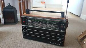 Vintage Selena B210 Portable Transistor Radio USSR SW MW FM