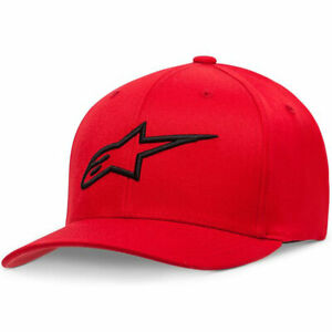 Alpinestars Ageless Curve Fashionable Casual Wear Cap Red / Black