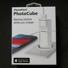 PhotoFast PhotoCube Photo Cube iPhone Charge Backup USB 3.1 Europe , UK Version