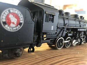 HO gauge Tenshodo 0-8-0 Great Northern steam brass locomotive 60's