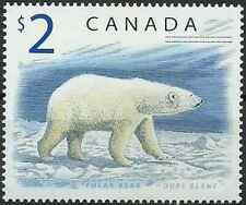 Timbre Animaux Ours Canada 1617 ** année 1998 (39362)