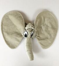 Elephant Party Costume Animal Hat Trunk Gray Elastic Stretch Fit
