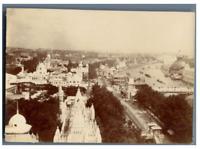France, Paris, Exposition Universelle de 1900. Vue des pavillons  Vintage citrat