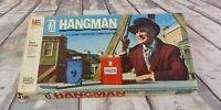 Vintage 1976 Hangman Board Game Milton Bradley #4623