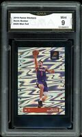 2019 Panini Stickers Silver Foil #426 Devin Booker Graded GMA 9 MINT ~ PSA 9?