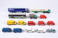 "Rietze, Roco, Herpa - Modellauto-Konvolut 15-teilig, 1:160, Spur N ""2916"
