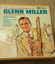 THE ORIGINAL RECORDINGS BY GLENN MILLER & HIS ORCHESTRA Sealed Record  LP ALBUM