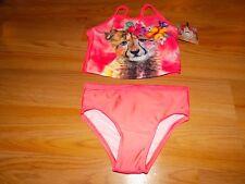 Size 5T OP Ocean Pacific Swimsuit Bathing Swim Suit Tankini Baby Tiger Cub New