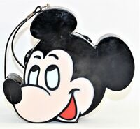 Disney Mickey Mouse AM Transistor Radio Working Missing Battery Cover Vintage