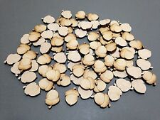 20 x 20mm A16 MDF Acorns Laser Cut Embellishments Wooden Craft Shapes Wholesale
