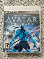 Avatar The Game (Sony PlayStation 3, 2009) Complete - PS3 No Manual