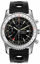 A2432212/B726-201S   NEW BREITLING NAVITIMER 1 CHRONOGRAPH GMT 46 MENS WATCH