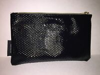 SEPHORA Black Zippered Cosmetic Makeup Bag Purse Travel NEW without Tags
