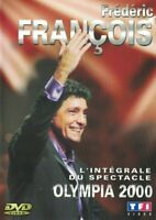 DVD FREDERIC FRANCOIS L'INTEGRALE DU SPECTACLE OLYMPIA 2000 OCCASION