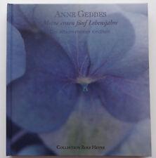 Meine ersten fünf Lebensjahre Anne Geddes Das Album meiner Kindheit Baby Blau
