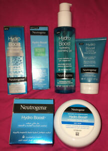 Neutrogena Hydro Boost Collection ~ Whipped Balm & Booster & Eye Gel & Cleanser
