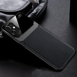 MOBILE PHONE CASE IPHONE 6/7/8/11/MAX/PLUS/PRO/SE/X/XR/XS BLACK PU LEATHER MENS