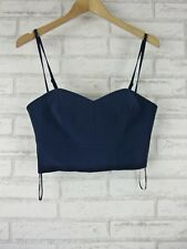 COUNTRY ROAD Crop top Sz S, 10 Blue