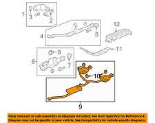 GMC GM OEM 10-12 Acadia 3.6L-V6-Muffler 22757000