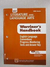 Holt Literature and language Arts fifth course Progress Tests Answers 0554011085