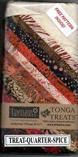 """TIMELESS TREASURES TONGA TREATS QUARTER SPICE 12 FQ -PATTERN INC SIZE 48"""" X 66"""""""