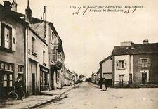 Carte SAINT LOUP SUR SEMOUSE Avenue de Boulignez
