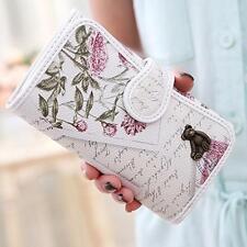 Graffiti Embossed Wallet Women Purse Long Leather Printing Women Wallets