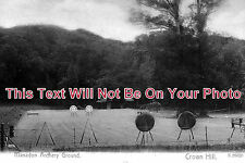 DE 89 - Manadon Archery Ground, Crown Hill, Plymouth, Devon c1917 - 6x4 Photo