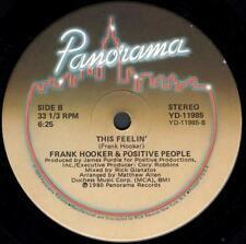 "Frank Hooker & the Positive People - This Feelin' (2 trk 12"" / 1980)"