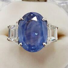 Kashmir Blue Sapphire 12.31 cts Natural Gubelin Certified Loose Gemstone