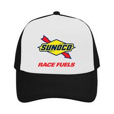 Sunoco Race Cap Fuel Oil Racing Trucker Hat Black Exclusive Outdoor Sun