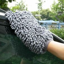 Car Wash Washing Microfiber Chenille Mitt Auto Cleaning Glove Dust Washer Best