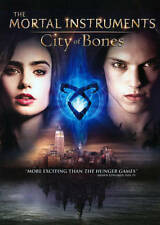 The Mortal Instruments: City of Bones (DVD, 2013) - NEW!!