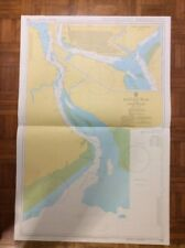 BURMA - Rangoon River And Approaches ADMIRALTY CHART 833 / 1987
