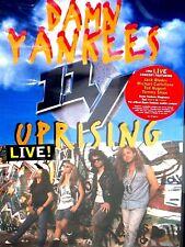 Damn Yankees - Uprising NEW! DVD, FREE SHIP, CONCERT ,TED NUGENT,JACK BLADES,