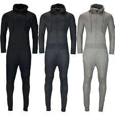 New Mens Slim Fit Tracksuit Set Fleece Hoodie Top Bottoms Jogging Joggers Gym